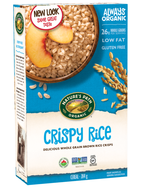 Nature's Path - Organic Crispy Rice Cereal, 284g