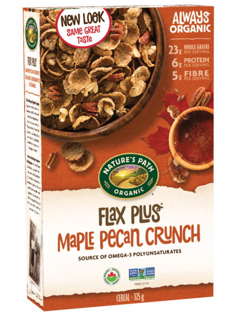 Nature's Path - Organic Flax Plus Maple Pecan, 325g