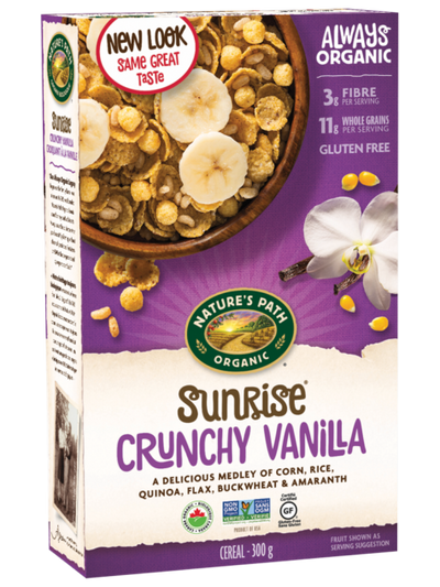 Nature's Path - Organic Crunchy Vanilla Sunrise, 300g