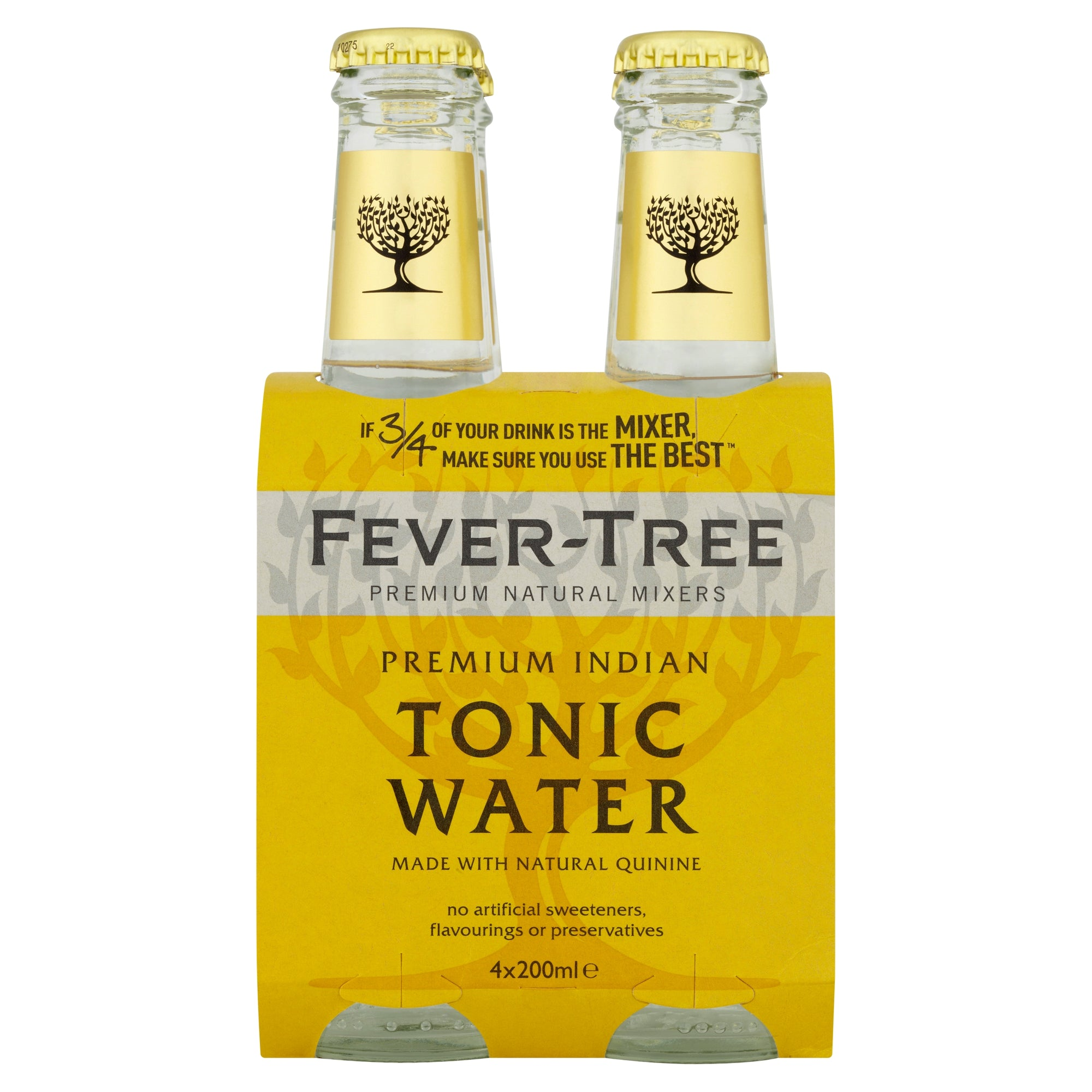 Fever Tree - Tonic Water, 4 x 200ML