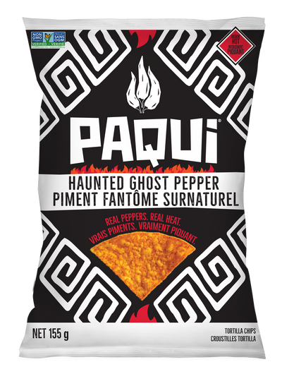 Paqui Tortilla Chips - Haunted Ghost Pepper, 155g