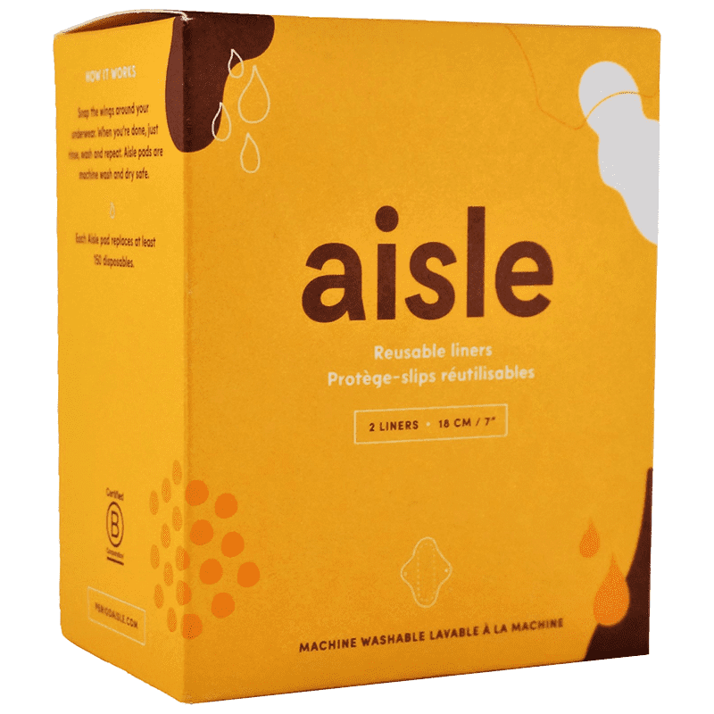 Aisle - Reusable Liners, 2 Liners