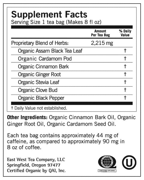 Yogi -  Chai Black Tea, 16ct - Goodness Me! - 2