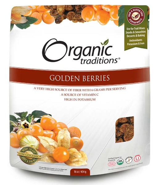 Organic Traditions - Golden Berries, 454g - Goodness Me! - 1