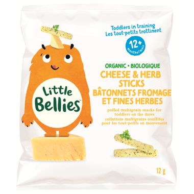 Every Bite Counts - Little Bellies, Cheese and Herb, 12g