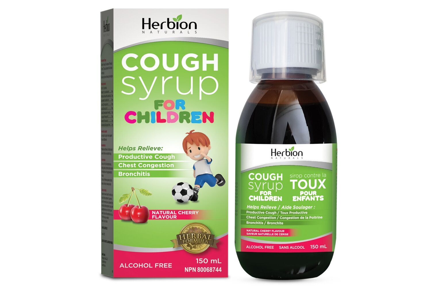 Baby & Kids - Herbion - Cough Syrup For Children, 150ml