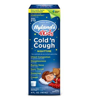 Baby & Kids - Hyland's - Cold'n Cough Nighttime 4 Kids - 118ml