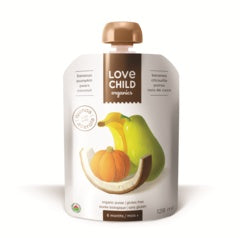Baby & Kids - Love Child Superblends - Pear, Pumpkin, Banana, Coconut 128 Ml