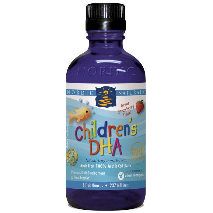 Baby & Kids - Nordic Naturals - Children's DHA - Strawberry, 237ml