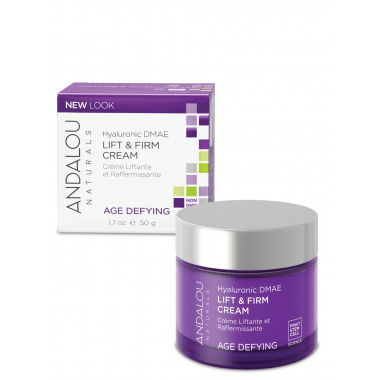 Beauty & Skin Care - Andalou Naturals - Hyaluronic Lift & Firm Cream, 50ml
