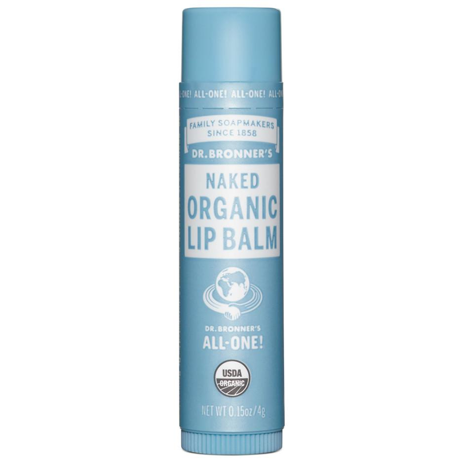 Beauty & Skin Care - Dr. Bronner's -Organic Naked Lip Balm, 4g