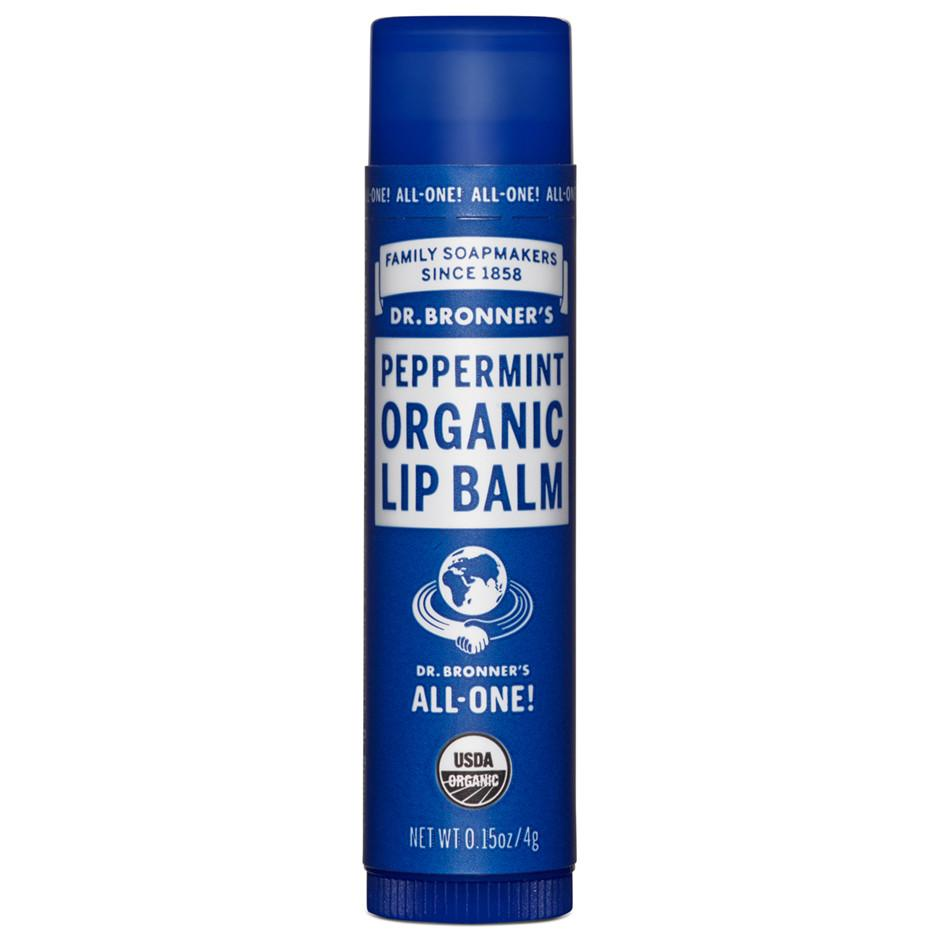 Beauty & Skin Care - Dr. Bronner's -Organic Peppermint Lip Balm, 4g