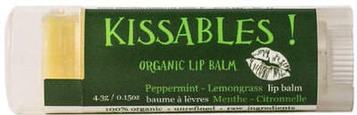 Beauty & Skin Care,Food & Drink - Crate 61 - Peppermint & Lemongrass Lip Balm, 4.3g