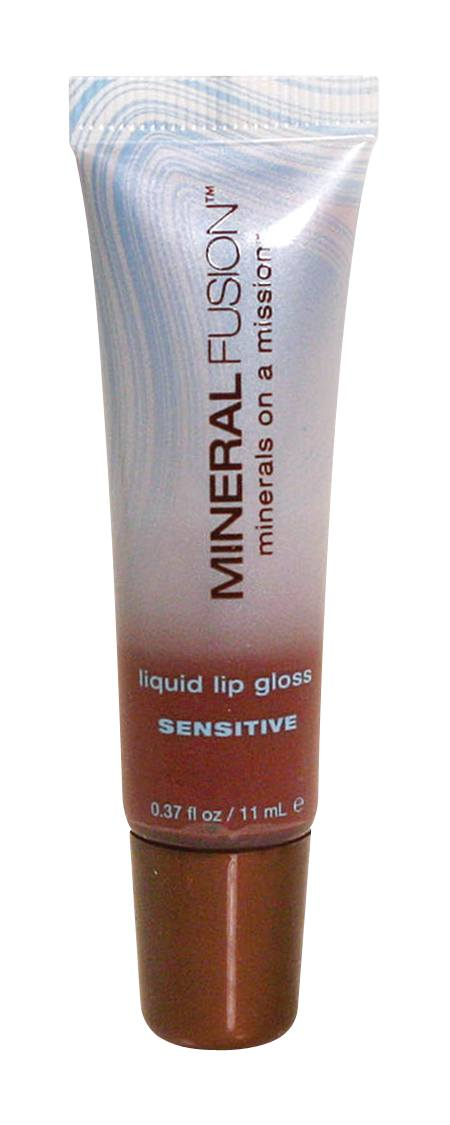 Beauty & Skin Care,Food & Drink - Mineral Fusion - Liquid Lip Gloss - Sensitive (Brick), 11ml