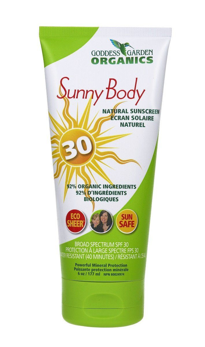 Beauty & Skin Care,Gluten Free,Vegan,Organic,Non GMO - Goddess Garden - Natural Sunscreen SPF30, 180 Ml