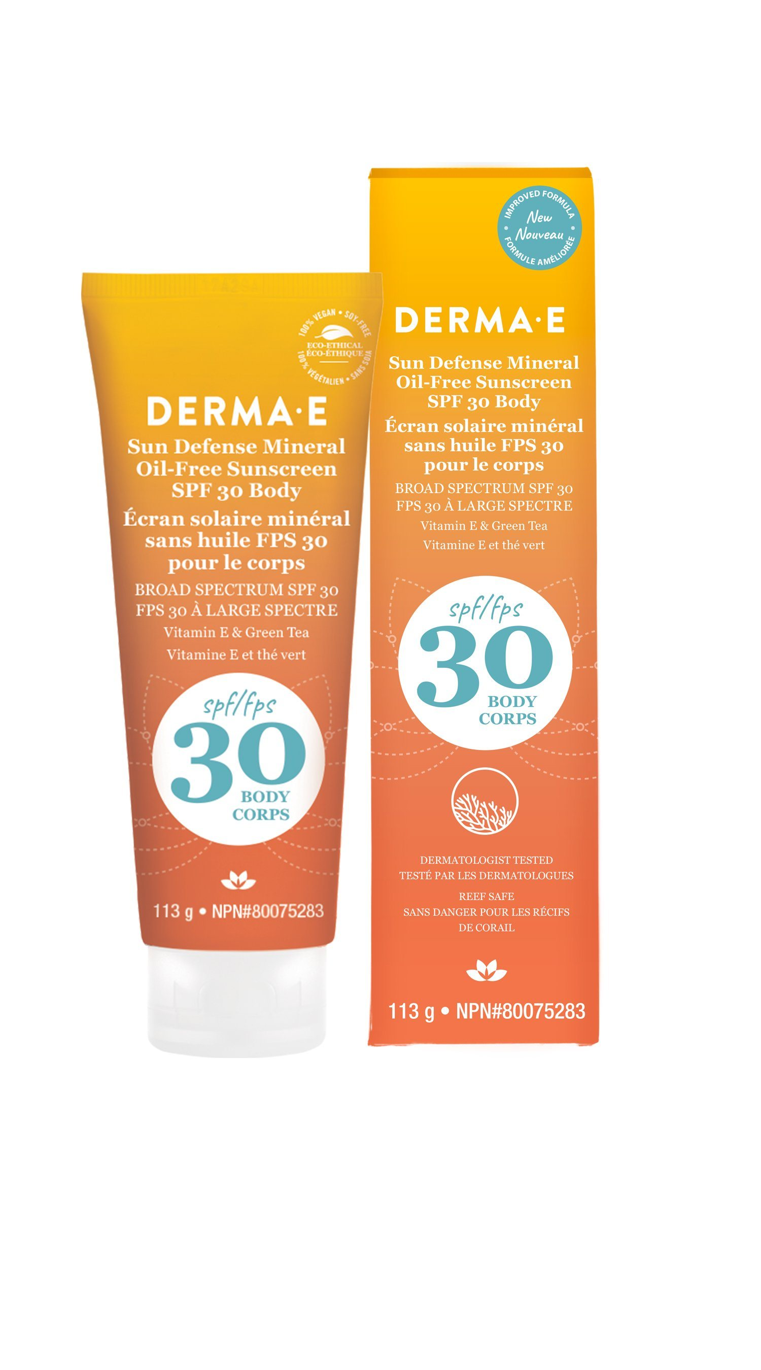 Beauty & Skin Care,Gluten Free,Vegan,Vegetarian,Non GMO - Derma E - Antioxidant Natural Sunscreen SPF 30 Body Lotion, 113g