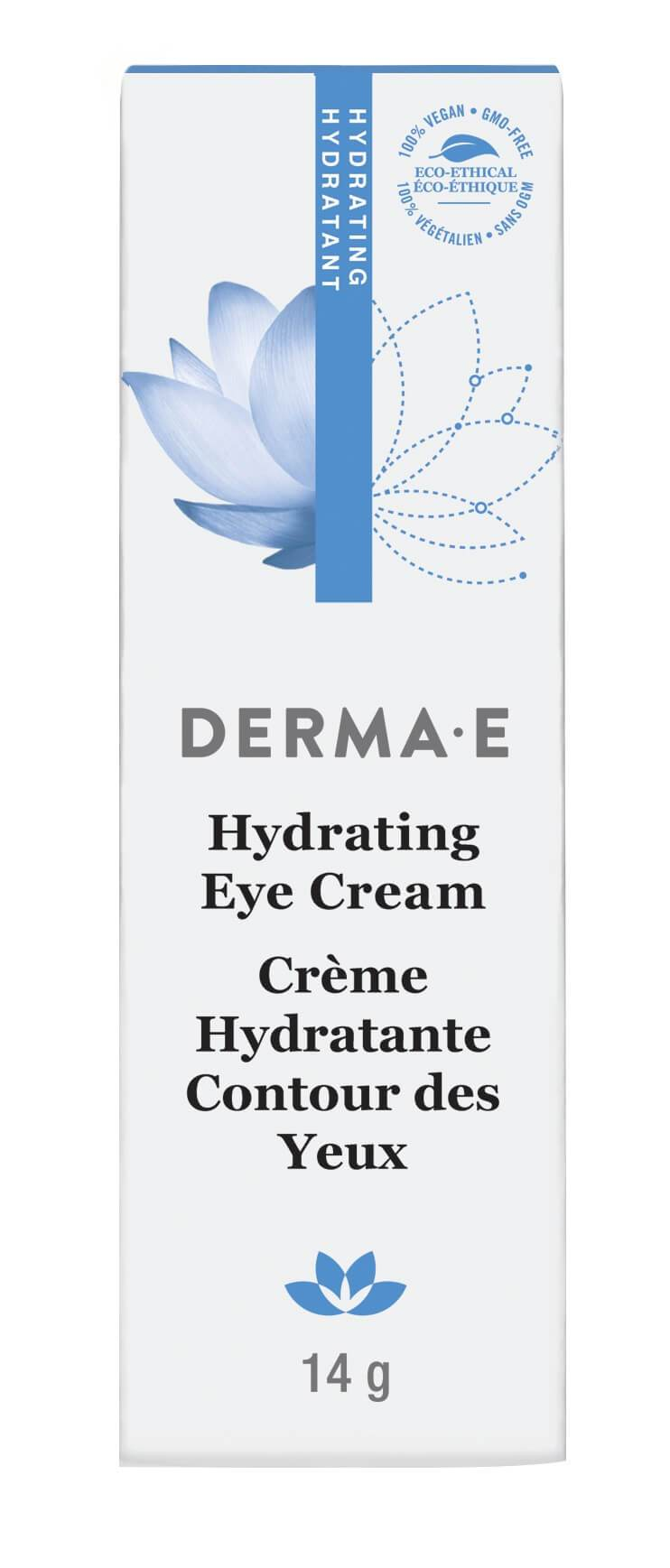 Beauty & Skin Care,Gluten Free,Vegan,Vegetarian,Non GMO - Derma E - Hydrating Eye Crème With Hyaluronic Acid & Pyconogenol®