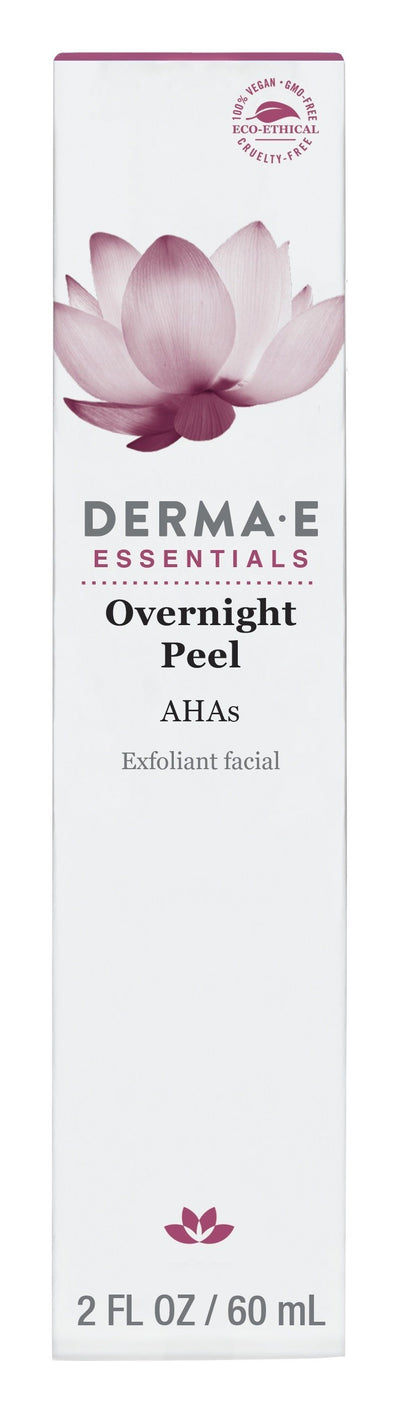 Beauty & Skin Care,Gluten Free,Vegan,Vegetarian,Non GMO - Derma E - Overnight Peel, 60ml