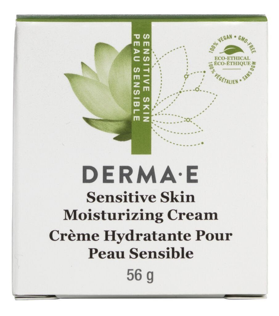 Beauty & Skin Care,Gluten Free,Vegan,Vegetarian,Non GMO - Derma E - Sensitive Skin Moisturizing Crème With Pycnogenol®, 56g
