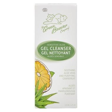 Beauty & Skin Care - Green Beaver - Sensitive Aloe Gel Cleanser, 120 Ml