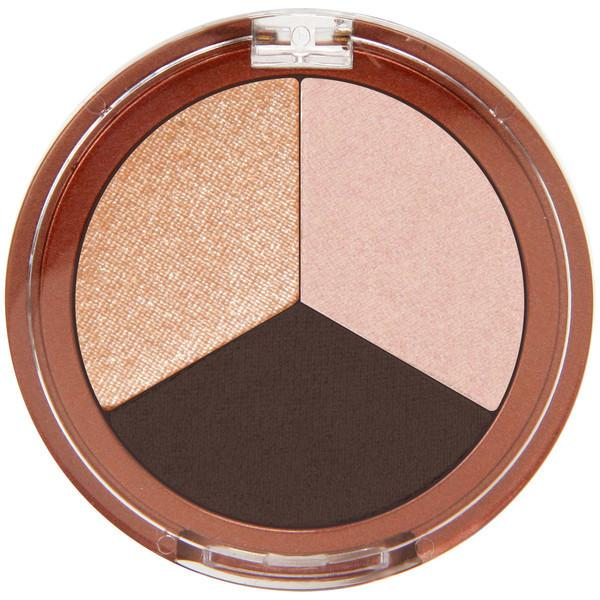Beauty & Skin Care - Mineral Fusion - Eye Shadow Trio - Espresso Gold, 3g