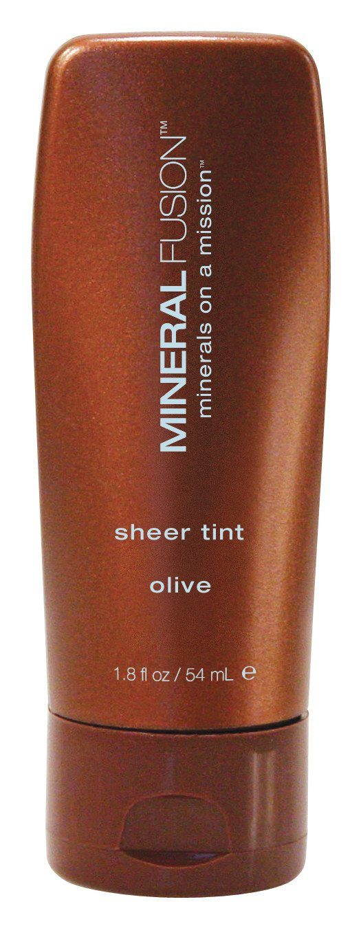 Beauty & Skin Care - Mineral Fusion - Sheer Tint Mineral Foundation -Olive (sheer Coverage For Olive Skin), 54ml
