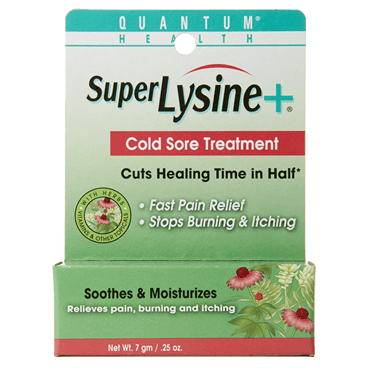 Beauty & Skin Care - Quantum Nutrition Inc. - Super Lysine+ Cold Sore Treatment, 7g