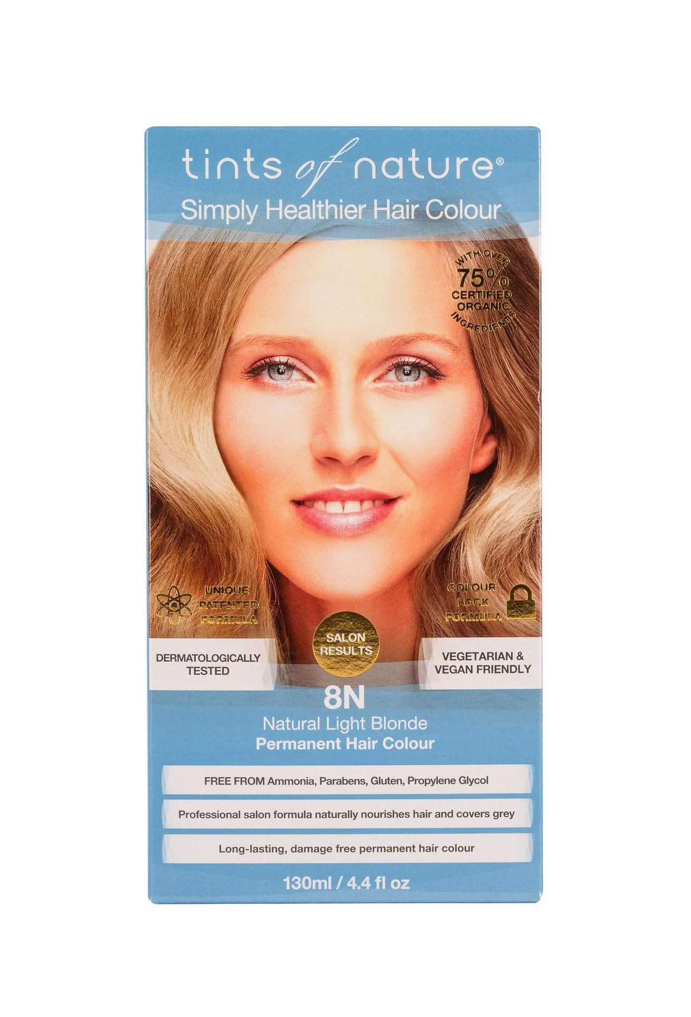 Beauty & Skin Care - Tints Of Nature - 8N Light Blonde, 130ml