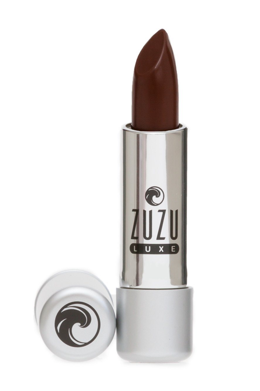 Beauty & Skin Care - Zuzu Luxe - Vegan Gluten Free Lipstick, Chocolate Cherry