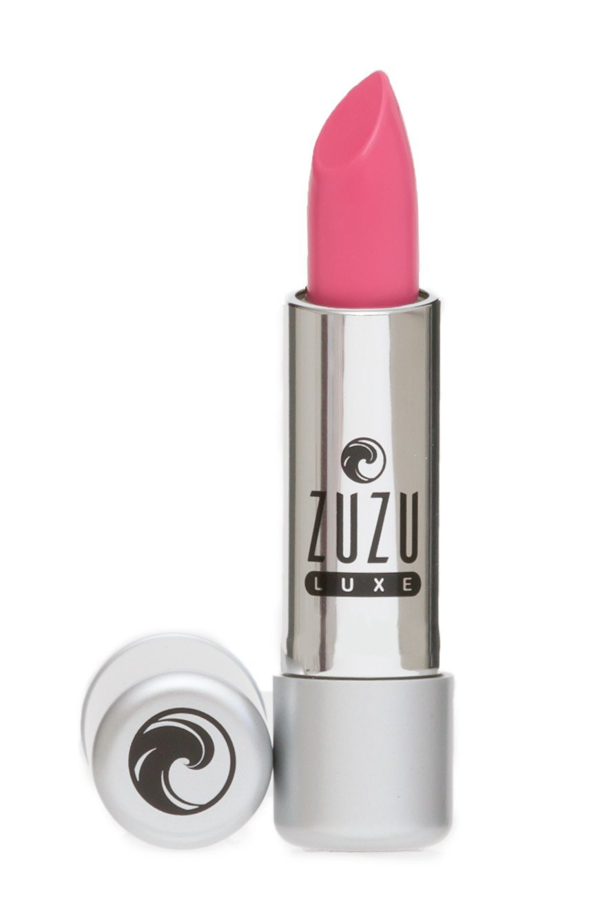 Beauty & Skin Care - Zuzu Luxe - Vegan Gluten Free Lipstick, Dollhouse Pink