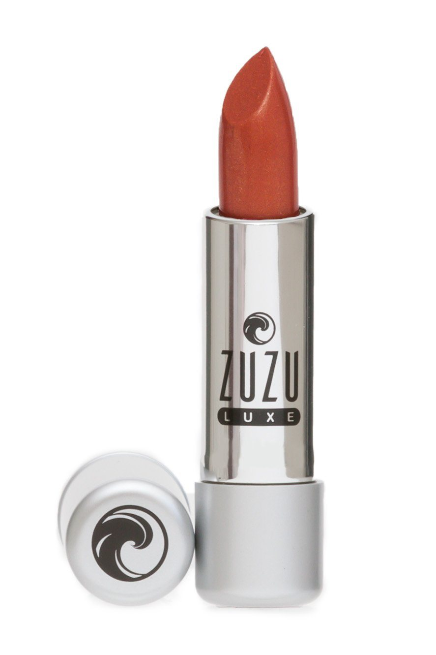 Beauty & Skin Care - Zuzu Luxe - Vegan Gluten Free Lipstick, Golden Bronze