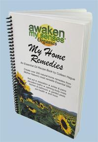 Books - Awaken My Senses Organics - My Home Remedies