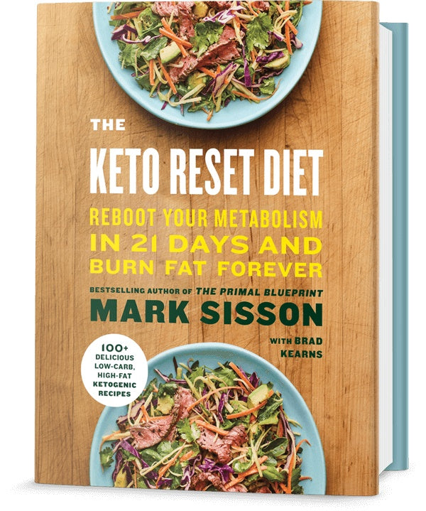 Books - The Keto Reset Diet By Mark Sisson