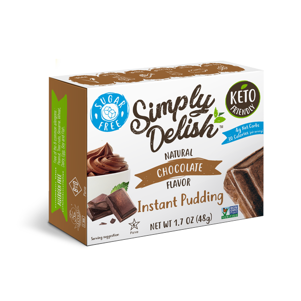 Simply Delish - Instant Pudding, Chocolate, 48g