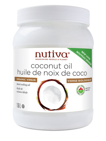Nutiva - Virgin Coconut Oil -1.61L - Goodness Me!