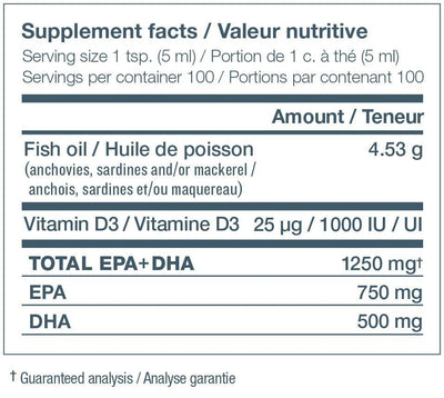 Fitness & Nutrition > Vitamins & Supplements - Nature's Way- NutraSea+D - Crisp Apple - 500ml