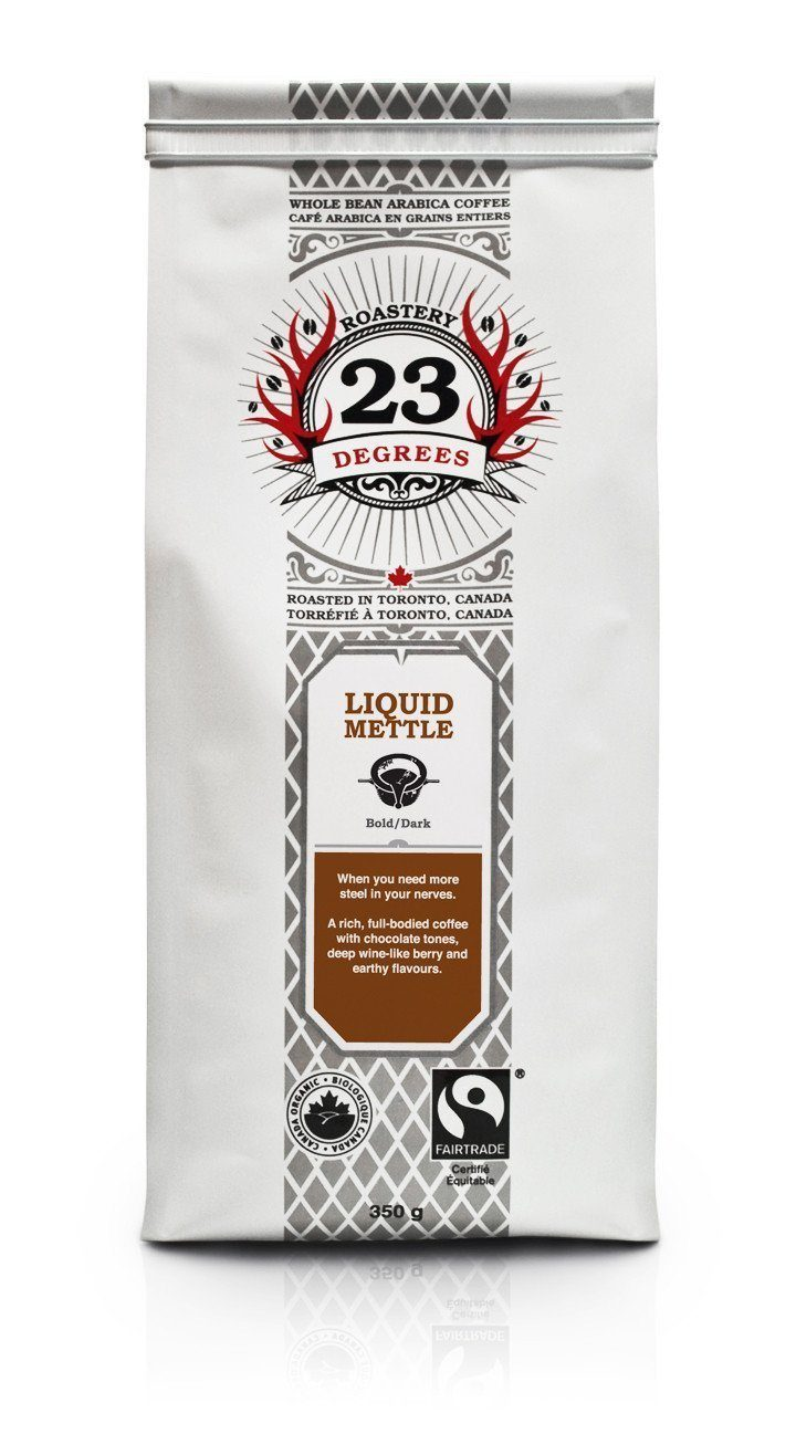 Food & Drink - 23 Degrees - Liquid Mettle Dark Coffee, 350g