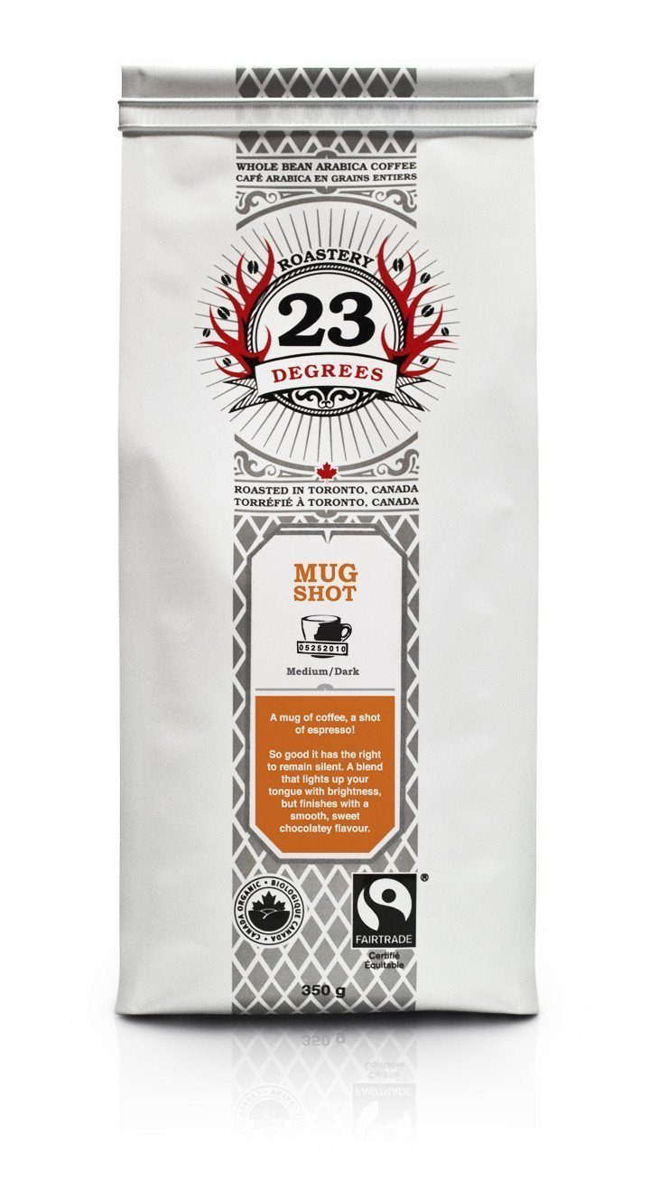 Food & Drink - 23 Degrees - Mug Shot Espresso Coffee, 350g