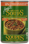 Food & Drink - Amy's Kitchen - Lentil Vegetable Low Sodium,  398ml