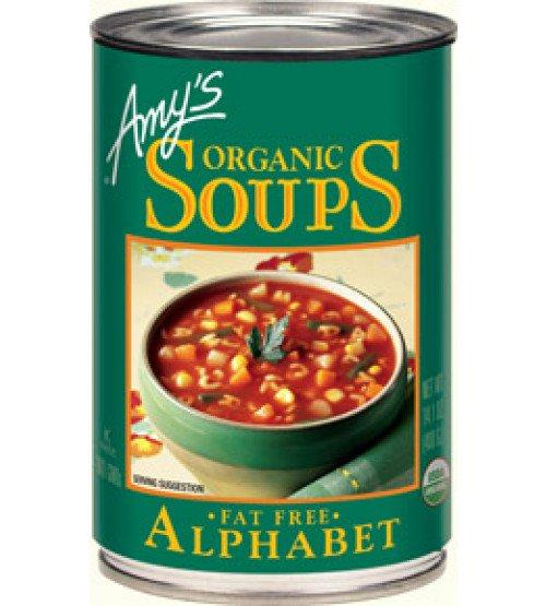 Food & Drink - Amy's Kitchen - Organic Alphabet Soup, 398ML