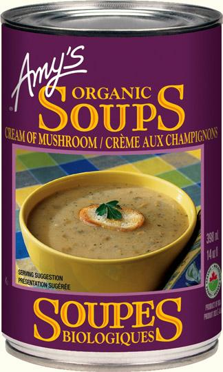 Food & Drink - Amy's Kitchen - Organic Cream Of Mushroom Soup, 398ML