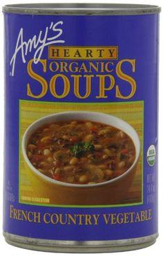 Food & Drink - Amy's Kitchen - Organic French Country Vegan Soup, 398ML