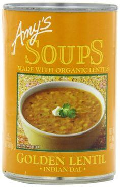 Food & Drink - Amy's Kitchen - Organic Golden Lentil Dal Soup, 398ML