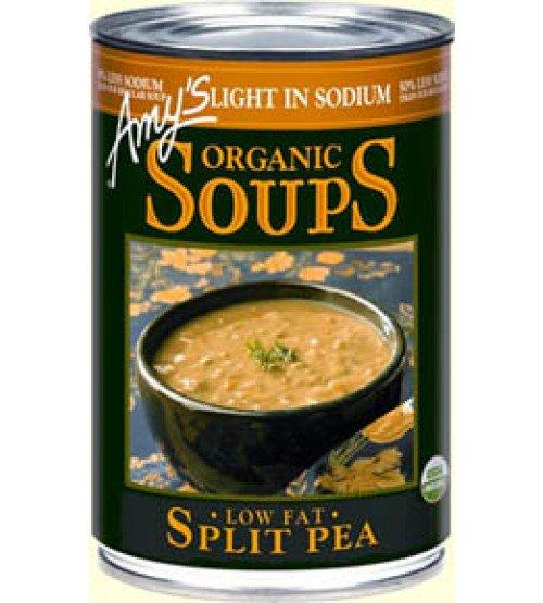 Food & Drink - Amy's Kitchen - Organic Split Pea Soup Low Sodium, 398ML