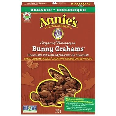 Food & Drink - Annie's - Bunny Grahams - Chocolate - 213G