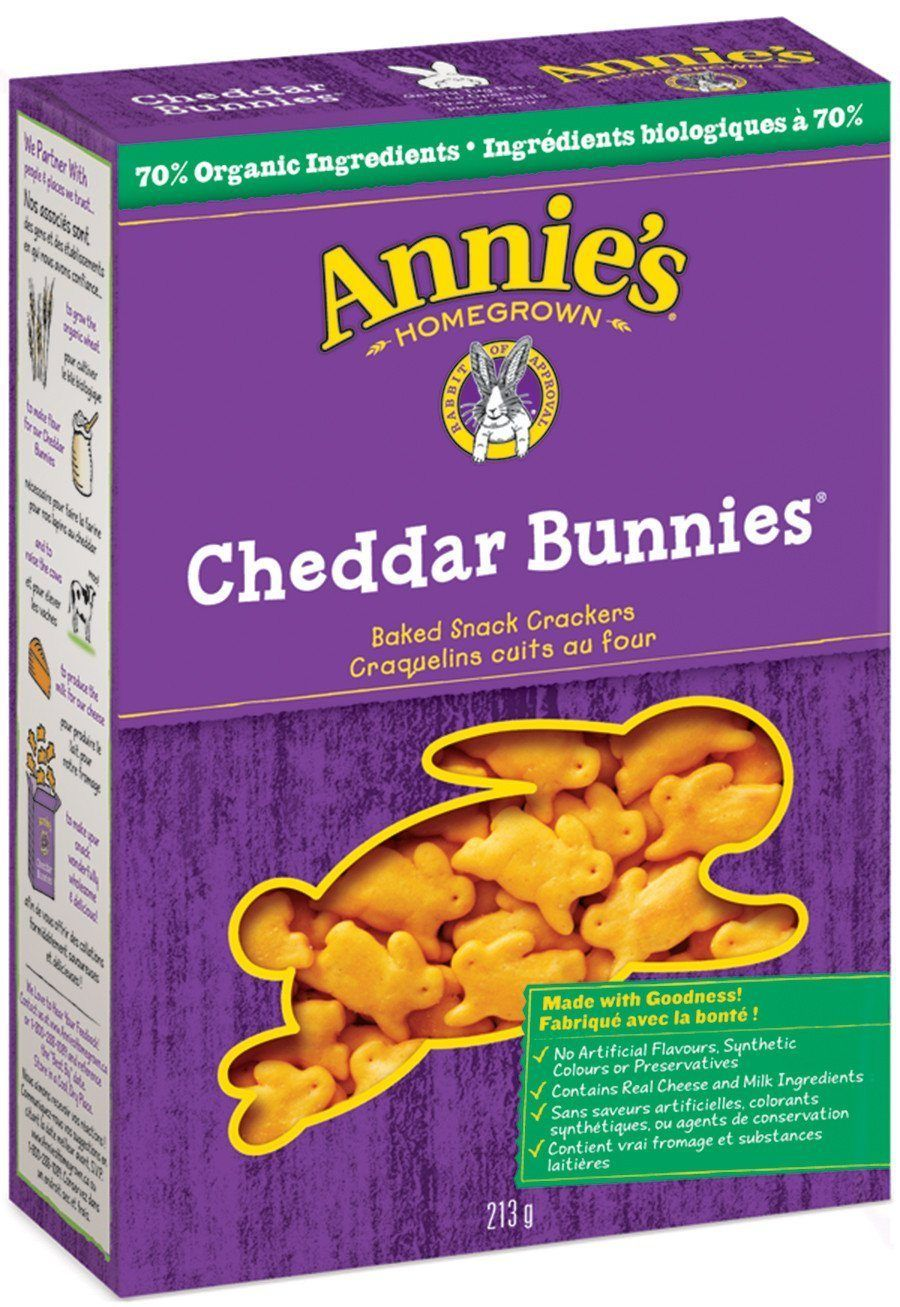 Food & Drink - Annie's - Cheddar Bunnies, 213g