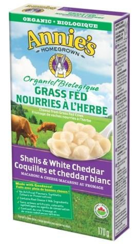 Food & Drink - Annie's - Shells & White Ceddar-grassfed, 170g
