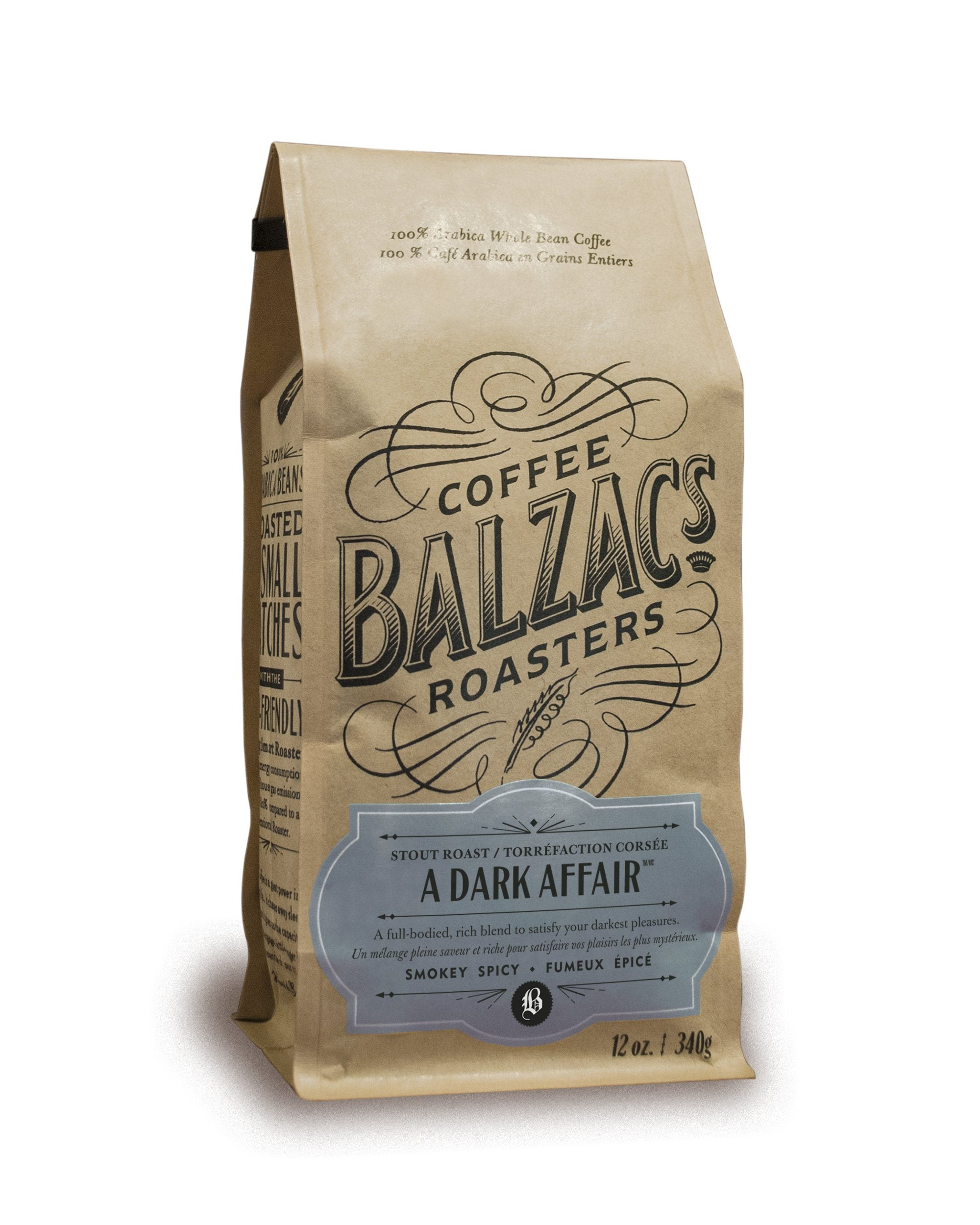 Food & Drink - Balzac's - A Dark Affair, 340g