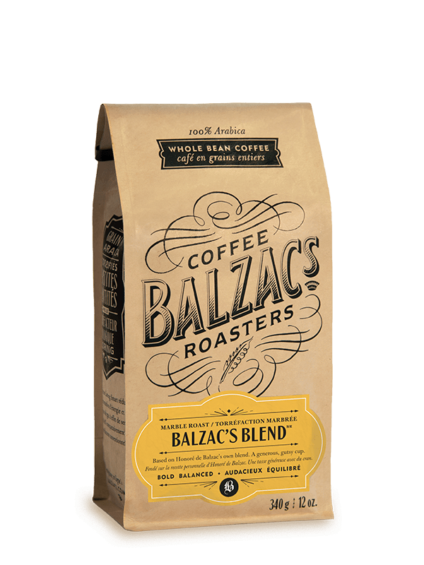 Food & Drink - Balzac's - Balzac's Blend Marble Roast, 340g