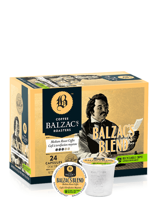 Food & Drink - Balzac's - Balzac's Blend - Single Serve, 24 Pods